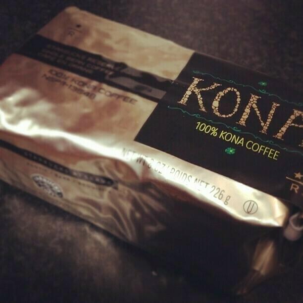 100% Kona, from Starbucks